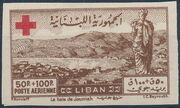 Lebanon 1947 Surtax for the Red Cross h