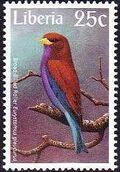 Liberia 1997 Birds i