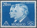 Monaco 1982 Prince Rainier and Prince Albert (Air Post Stamps) d
