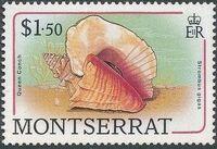 Montserrat 1988 Sea Shells l