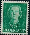 Netherlands 1949 Queen Juliana - En Face (1st Group) k.jpg