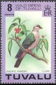 Tuvalu 1978 Wild Birds of Tuvalu a