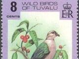 Tuvalu 1978 Wild Birds of Tuvalu