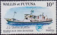 Wallis and Futuna 1979 Tuna tagging by South Pacific Commission a
