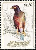 Aitutaki 1984 Local Birds (2nd Group) e