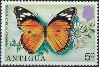 Antigua 1975 Butterflies d