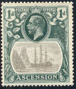 Ascension 1924 Seal of the Colony b