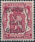 Belgium 1938 Coat of Arms - Precancel (5th Group) c