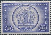 Belgium 1939 International Railroad Congress b