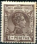 Elobey, Annobon and Corisco 1907 King Alfonso XIII m