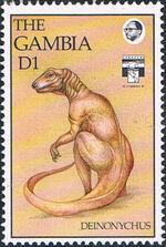 Gambia 1992 Dinosaurs e