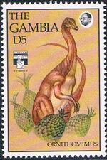 Gambia 1992 Dinosaurs j