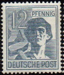 Germany-Allied Occupation 1947 2nd Allied Control Council Issue d