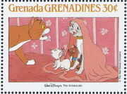 Grenada Grenadines 1988 The Disney Animal Stories in Postage Stamps 6e