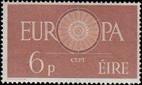 Ireland 1960 Europa a