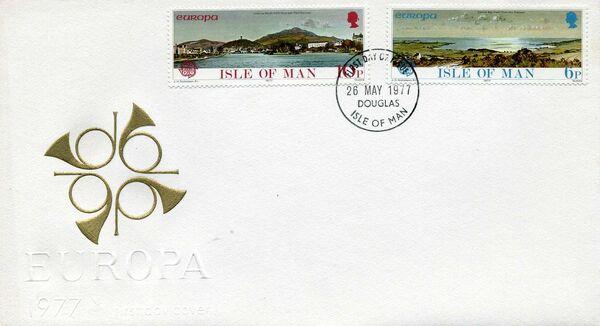Isle of Man 1977 Europa l
