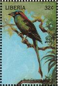 Liberia 1998 Birds of the World d