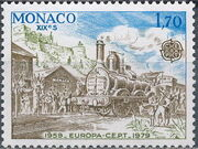 Monaco 1979 EUROPA - Communications c