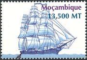 Mozambique 2002 Ships e