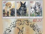 New Zealand 1997 Year of the Rabbit