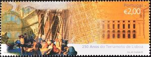 Portugal 2005 250th Anniversary of the Lisbon Earthquake b