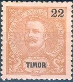 Timor 1903 D. Carlos I - New Values and Colors i
