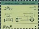 Tuvalu 1985 Leaders of the World - Auto 100 (2nd Group) e