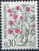 Andorra-French 1985 Flowers (Postage Due Stamps) c