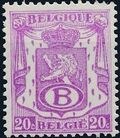 Belgium 1946 Coat of Arms - Official Stamps b