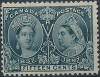 Canada 1897 60th Year of Queen Victoria's Reign i