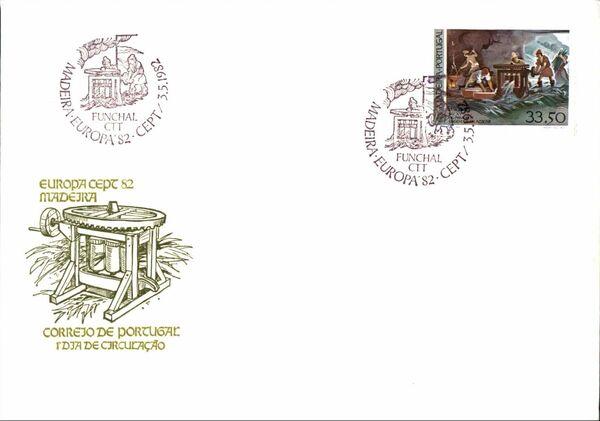 Madeira 1982 Europa e
