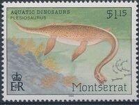 Montserrat 1994 Aquatic Dinosaurs b