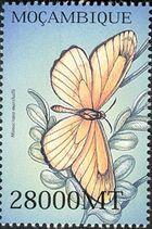 Mozambique 2002 Butterflies d