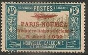 New Caledonia 1933 Definitives of 1928 Overprinted o