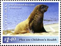 New Zealand 2012 New Zealand Sea Lion c