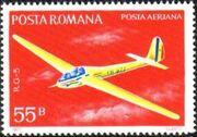 Romania 1977 Gliders c