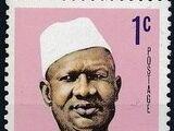 Sierra Leone 1972 President Siaka Stevens