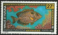 Wallis and Futuna 1993 Fishes a