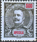 Angola 1901 D. Carlos I (New Values) a