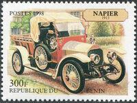 Benin 1998 Vintage Cars e