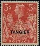 "British Offices in Tangier 1949 King George VI Overprinted ""TANGIER"" n"