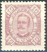 Cape Verde 1893-1895 Carlos I of Portugal c