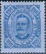 Cape Verde 1893-1895 Carlos I of Portugal l