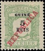 Guinea, Portuguese 1911 Postage Due Stamps a