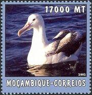 Mozambique 2002 The World of the Sea - Sea Birds 2 f