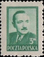 Poland 1949 President Boleslaw Bierut (2nd Group) b