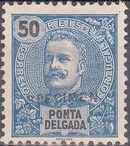 Ponta Delgada 1897 D. Carlos I SPg