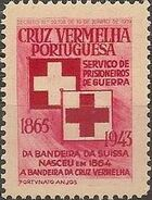 Portugal 1943 - Red Cross - Cinderellas Cinderella d