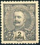 Portuguese India 1903 D. Carlos I - New Colours and Values n