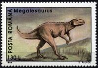 Romania 1994 Dinosaurs b